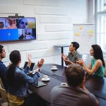 video conference in huddle-room, TVPRO ITALIA